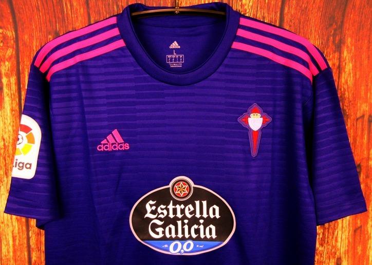 1ba1b482c Camisa Celta De Vigo 2018 2019 Away Uniforme 2 Aspas Radoja - R  125 ...