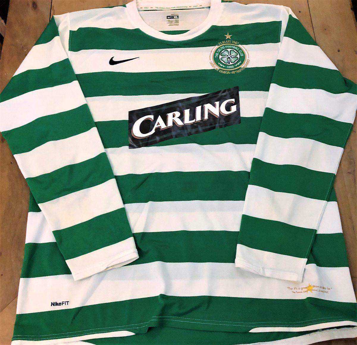 65926cb0f8223 Camisa Celtic 40 Anos Nakamura  25 Mangas Longas Rara - R  379