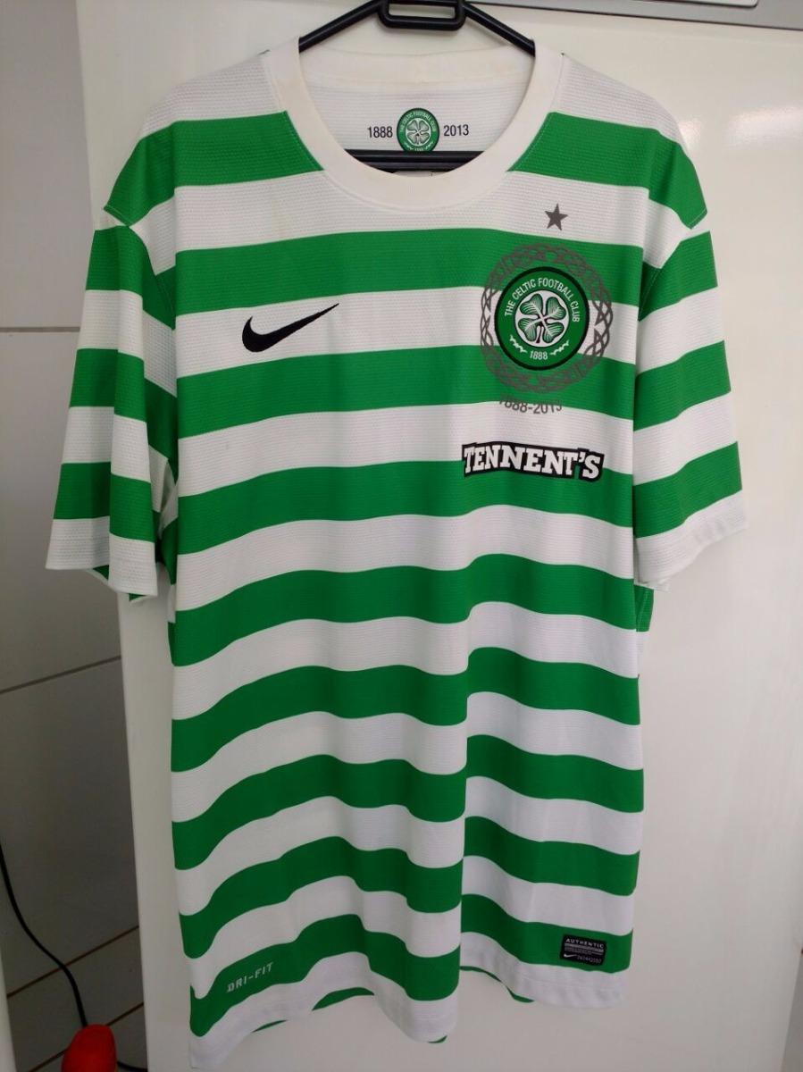 3f415e8f39c2e Camisa Celtic Escócia Nike Nova Na Etiqueta Raridade - R  350