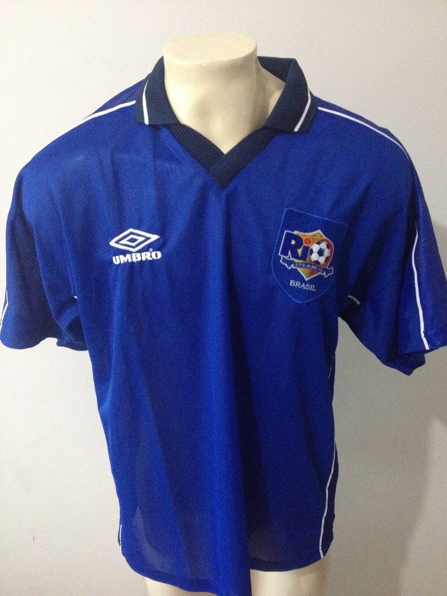 Camisa Centro Futebol Zico Do Rio Cfz 10 Umbro - Raridade - R  120 ... f2358ef1880f5