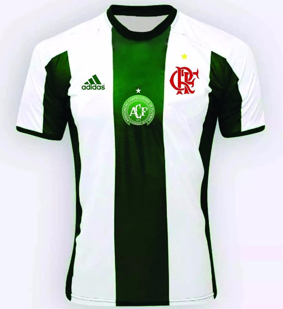 8afb68cbc camisa chapecoense   flamengo verde personalizado. Carregando zoom.