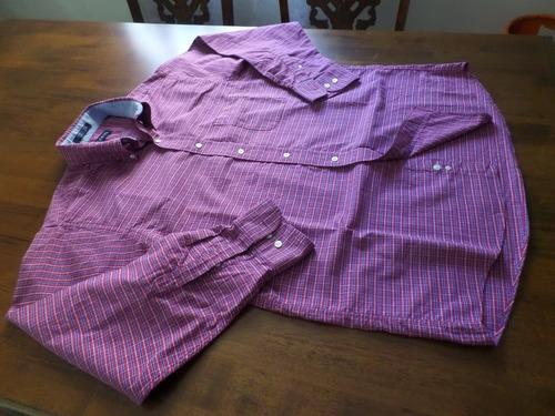 camisa chaps como nueva talla l nó polo, nautica , columbia