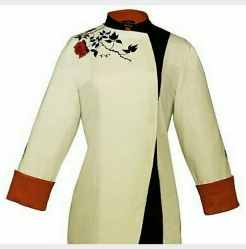 camisa chaqueta sushi chef ropa restaurante