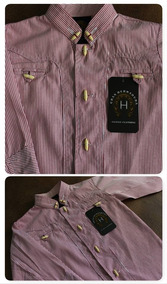 66341a23c6 Camisa Charra Bordado Herradura en Mercado Libre México