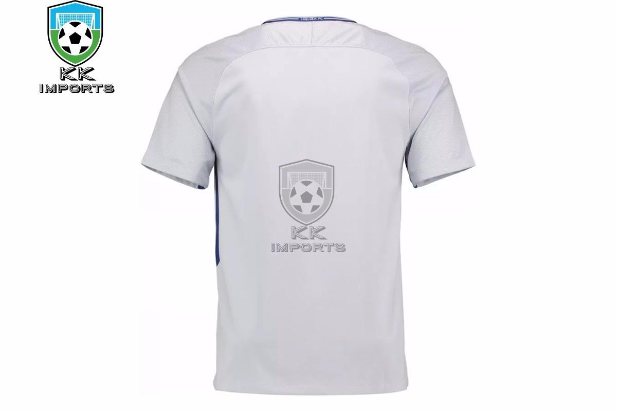 00632dc0b4def camisa chelsea 2017 2018 uniforme 2 sob encomenda. Carregando zoom.