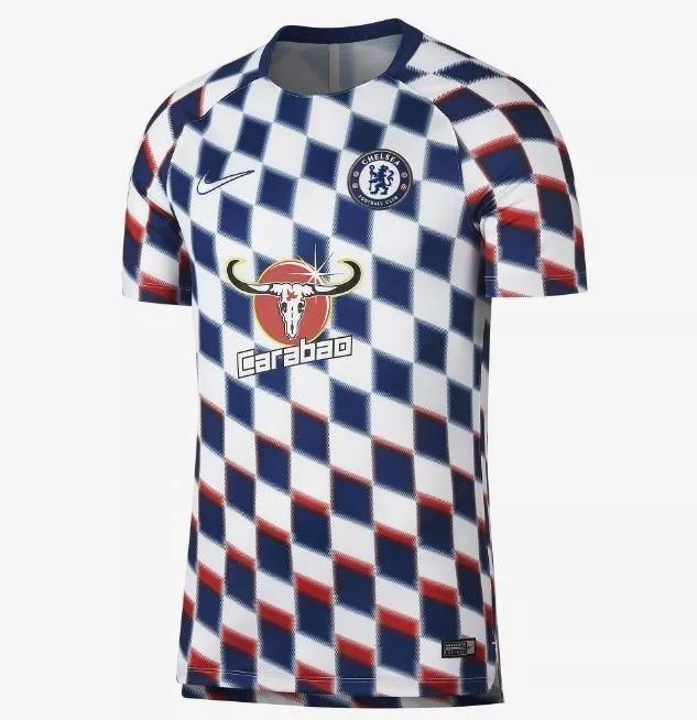 bb54ac95e Camisa Chelsea 2018   2019 Uniforme Treino Frete Grátis - R  139