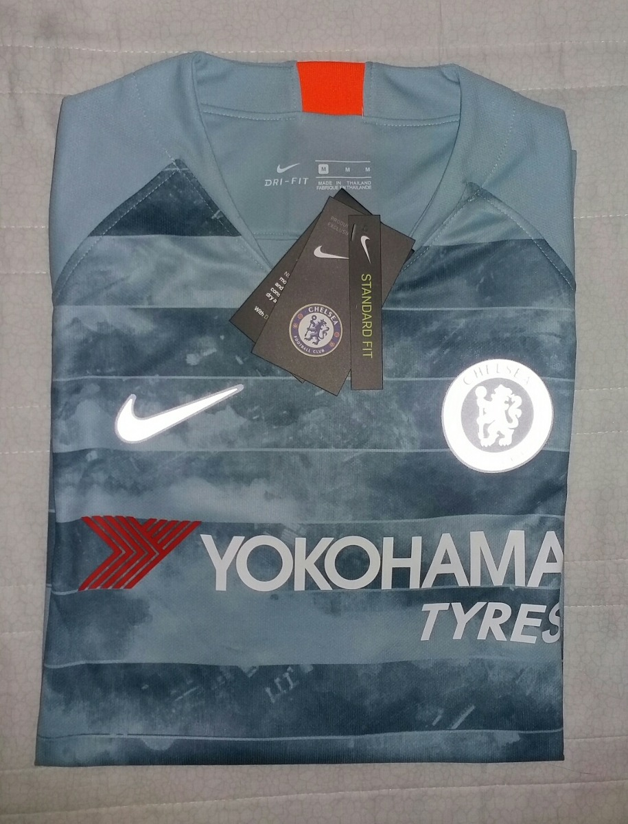 c27214b4fa646 Camisa Chelsea 2018 - Third - Entrega Grátis - R  149