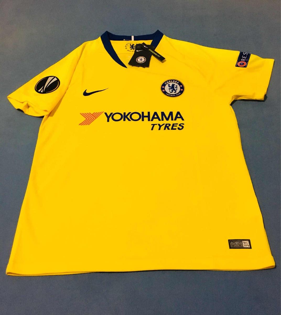c536716522 Camisa Chelsea 2018 19 Away (tam G) Pronta Entrega - R  139