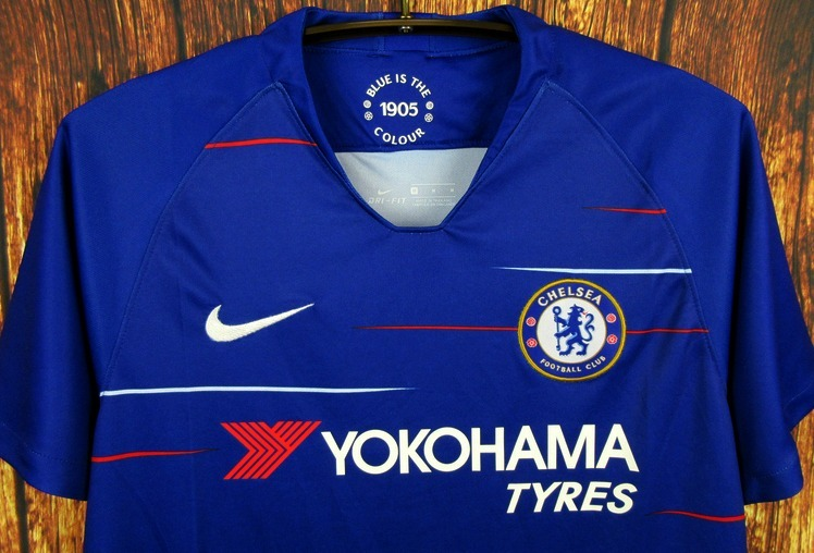 35b40daaa2 Camisa Chelsea 2018 2019 Home Uniforme 1 Hazard Willian - R  125