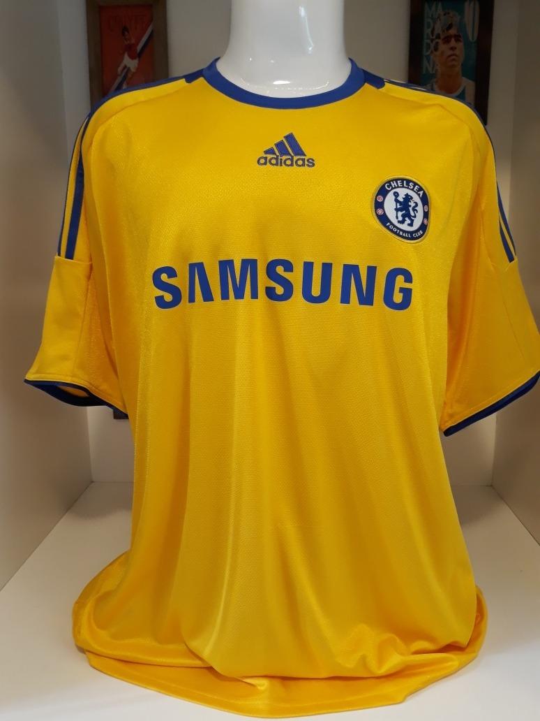 8bd930f45b81d camisa chelsea adidas amarela. Carregando zoom.