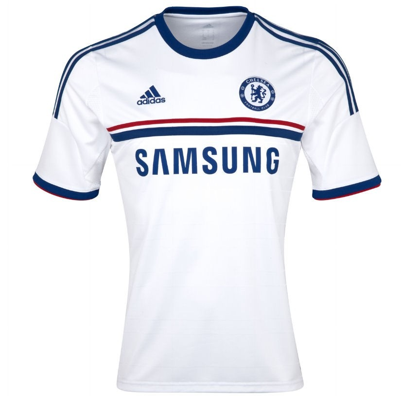 camisa chelsea adidas branca 2013. Carregando zoom. 3fe340f4896d1