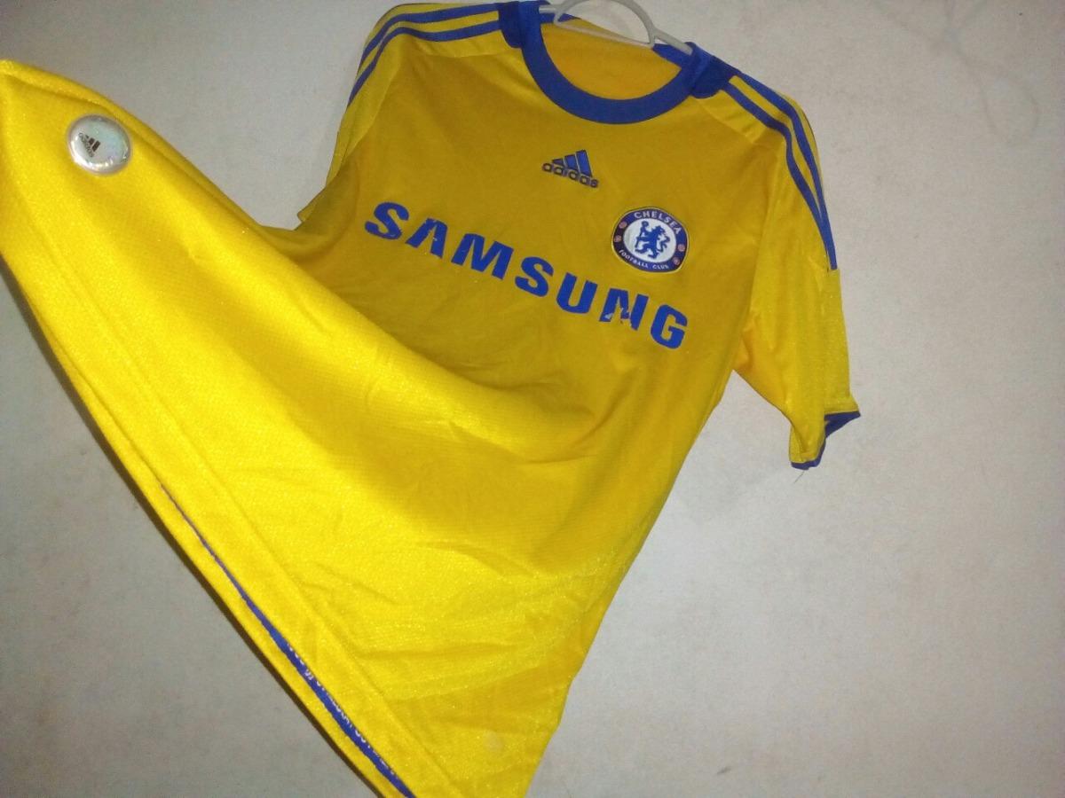 2cc4cc4fa8afc camisa chelsea amarela adidas. Carregando zoom.