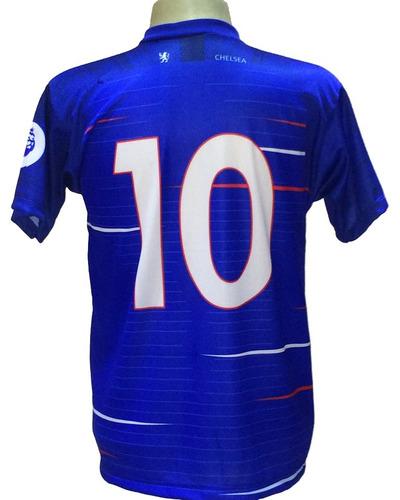 f903ec84fd Camisa Chelsea Azul Branco Nova 2018 2019 - R  29