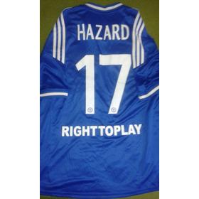 Camisa Chelsea Hazard #17 Liga Europa Conservação 10