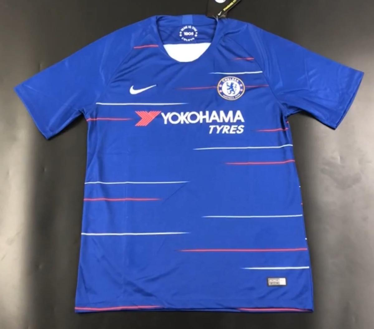 e22b81dfc Camisa Chelsea Nike 2018-2019 Nova Temporada - Frete Gratis - R  160 ...