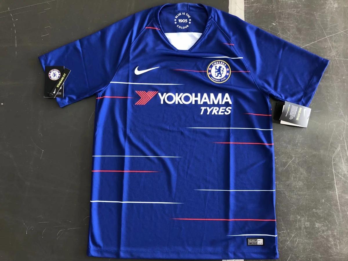 camisa chelsea nova 2018 2019 personalização e frete grátis. Carregando zoom . 10a809fa98d30