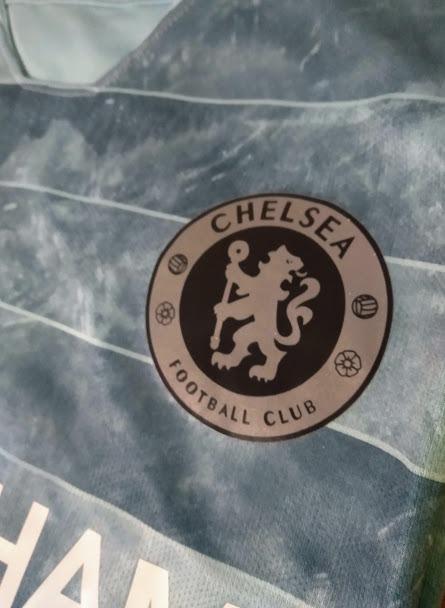 6c5364bc01 Camisa Chelsea Third Azul Claro 2018-19 Oficial-frete Grátis - R ...