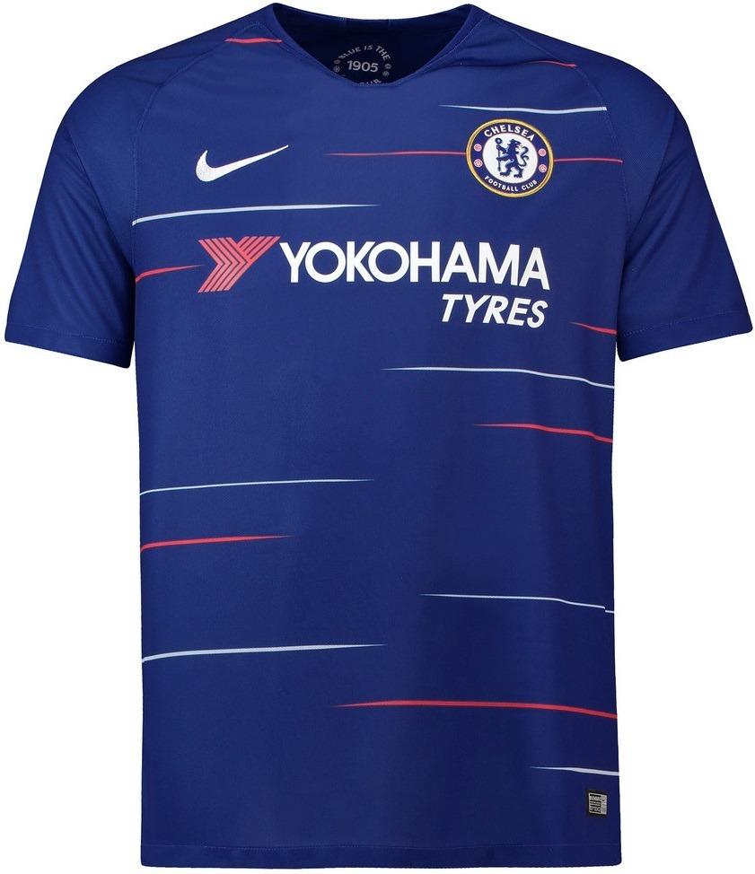 884a9a1595 Camisa Chelsea - Uniforme 1 - 2018   2019 - Frete Grátis - R  125