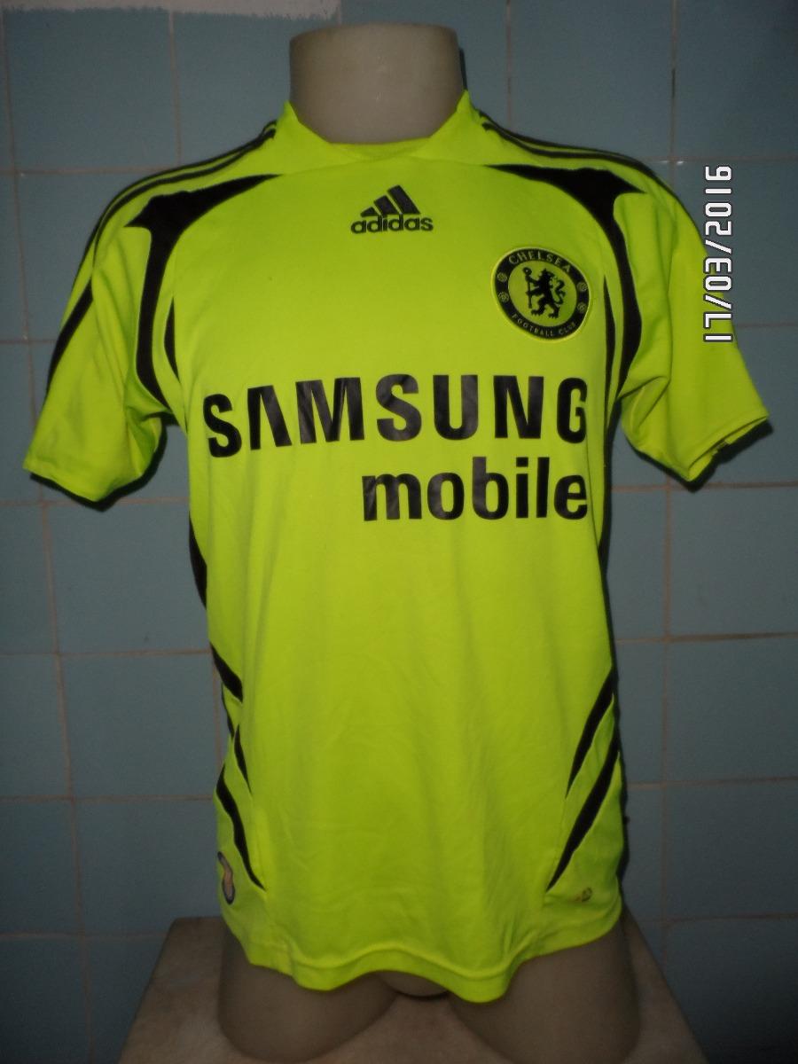 camisa chelsea verde marca texto. Carregando zoom. 5e6fb9f0b52d3