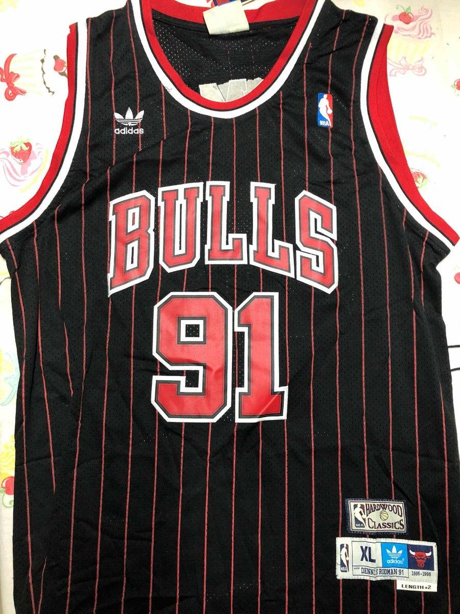 camisa chicago bulls dennis rodman. Carregando zoom. e4f591614ef