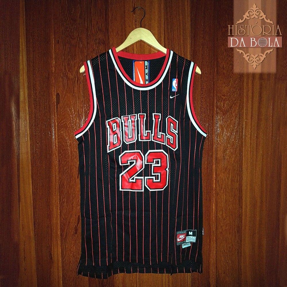 camisa chicago bulls retrô anos 80 jordan preta. Carregando zoom. b17ce9b2112