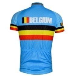 e2b0577001 Camisa Ciclismo Ert Equipe Bélgica Manga Curta P M G Gg Ggg - R  128 ...