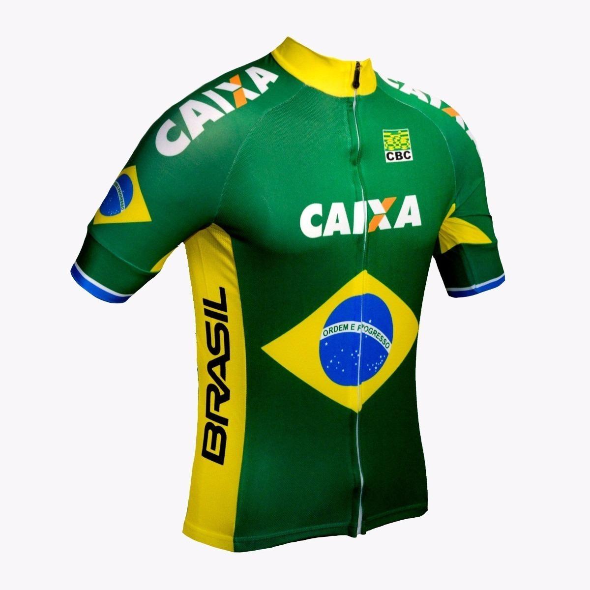 78ea080f4c Camisa Ciclismo Ert Seleção Brasil +barata +promoção-g - R  120