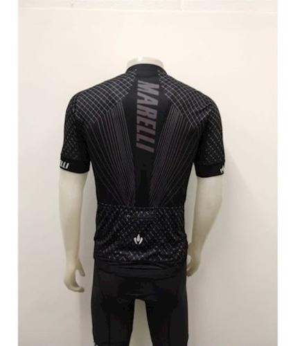 camisa ciclismo europa primo preta marelli