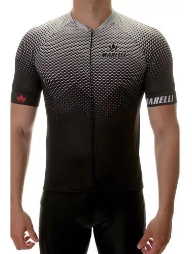 camisa ciclismo europa prisma cinza marelli