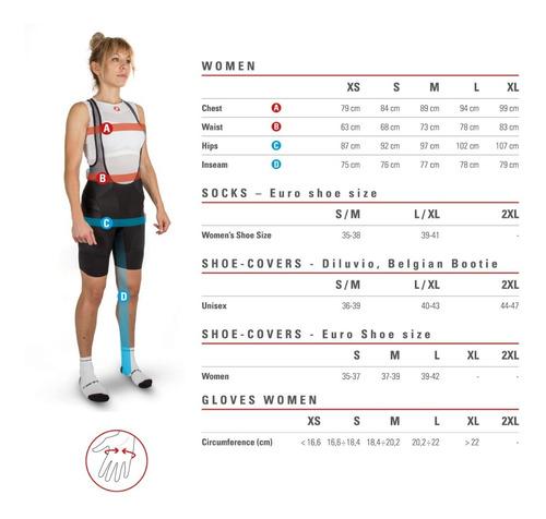 camisa ciclismo feminina anima 2w castelli