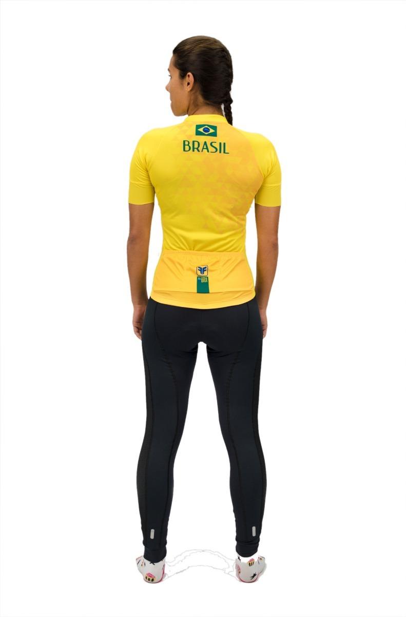 camisa ciclismo feminina free force brasil 2018 bike mtb. Carregando zoom. f0b69ca8e9b0e