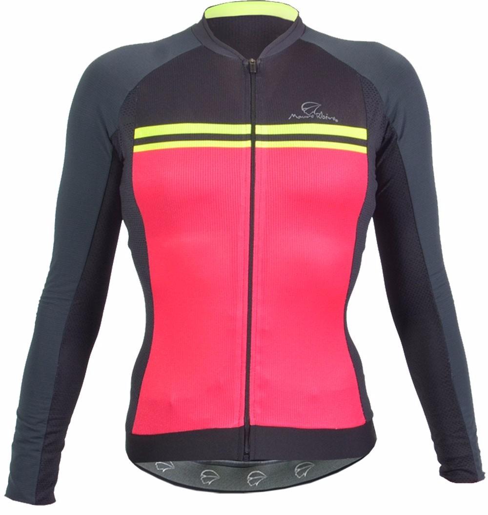 camisa ciclismo feminina manga longa mauro ribeiro tech. Carregando zoom. 5f905ec1cbd