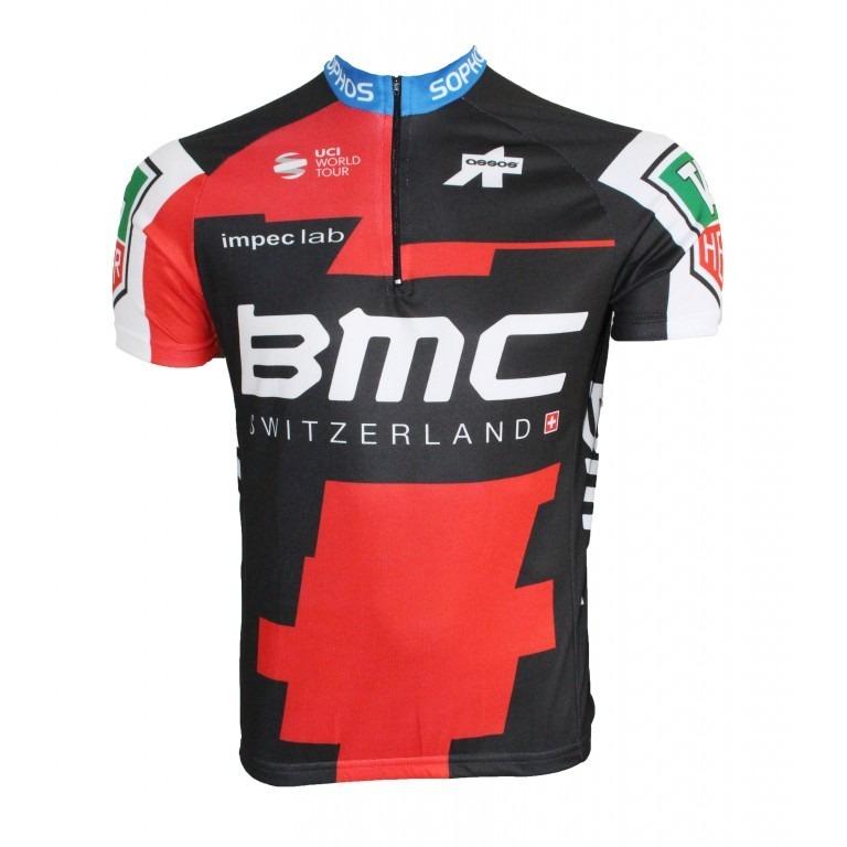 Camisa Ciclismo Masculina Bmc 2018 Bike Mtb Speed - R  75 234624c6a1b09