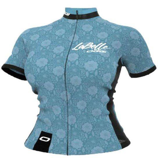 Camisa Ciclismo Oggi Tour Labelle Flores Azul - R  114 def8fc034