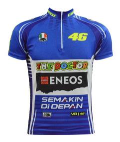 817d3a9cff Camisa Ciclismo Valentino Rossi - Ciclismo com Ofertas Incríveis no Mercado  Livre Brasil