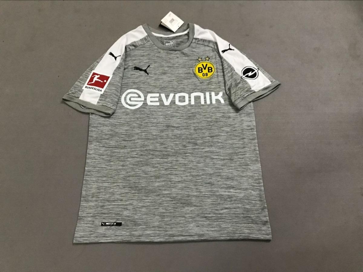 camisa cinza borussia dortmund 2017 2018 todos os jogadores. Carregando zoom . ba224cc97f83d
