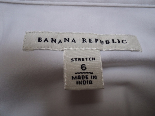 camisa clásica blanca de mujer importada. banana republic