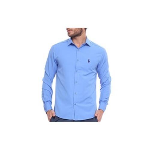a2fd1de915 Camisa Club Polo Collection Social Out Azul Royal - R  99
