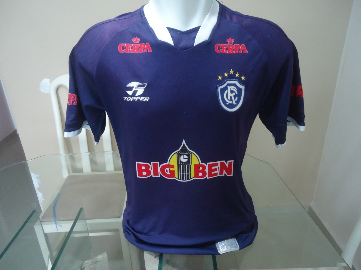 Camisa Clube Do Remo Topper   Big Ben - 2004   10 - (380) - R  84 3362c87501322