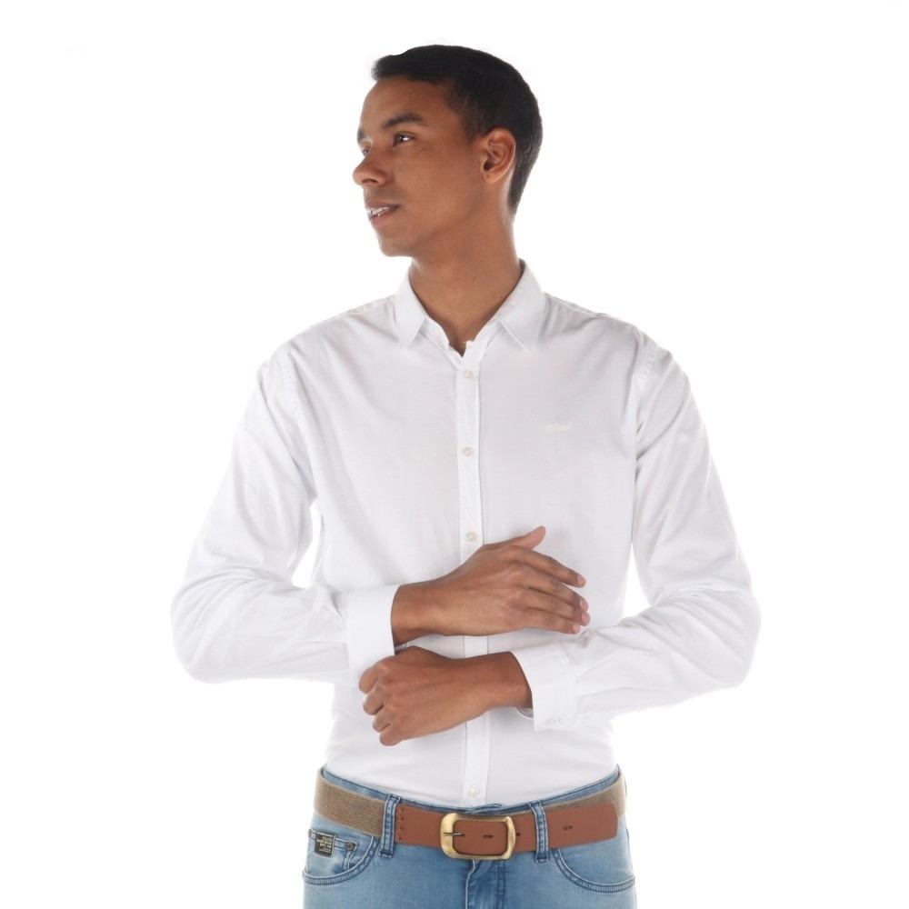 6044f78ce Camisa Colcci Masculina Slim Básica - R$ 290,00 em Mercado Livre