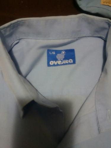 camisa colegial l grande