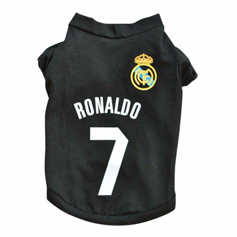 camisa colete cão cachorro cr7 ronaldo real madrid futebol. Carregando zoom. 51d8681bc8d63