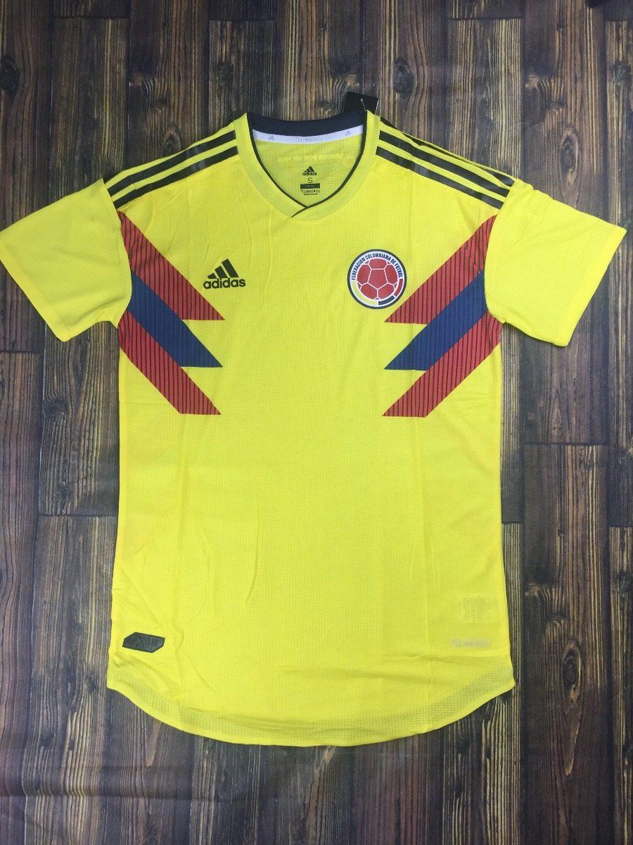 camisa colômbia 2018 modelo jogador- promoção. Carregando zoom. 29c040b6ef1d7
