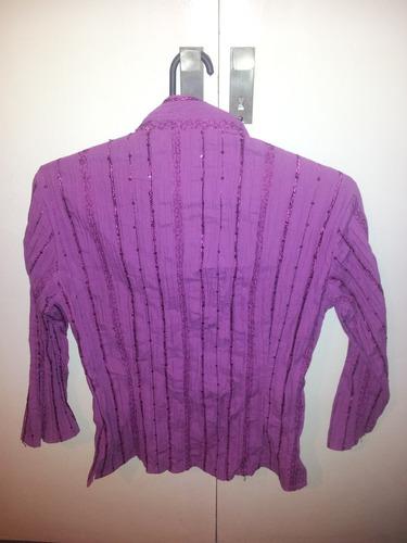camisa color obispo