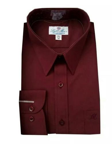 camisa color vino talla extra 44 ó 48