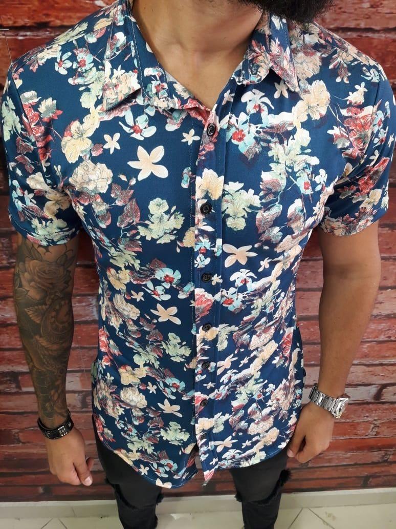 ffd782da988 Camisa Colorida Floral Da Moda Masculina Promoção Florida - R  120 ...