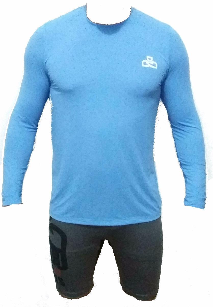 camisa com filtro solar kando uva   uvb - masculina. Carregando zoom. 3d315aeca65