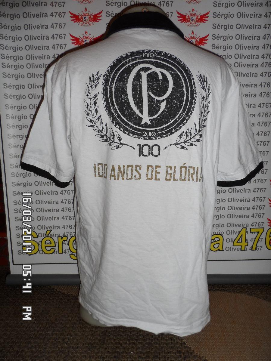 afd108fe14 camisa comemorativa aos 100 anos do corinthians. Carregando zoom.