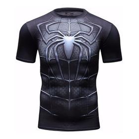 Camisa Compressão Heróis Spider-man,venom,superman,batman