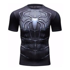 Camisa Compressão Spider-man,superman,batman,homem-aranha
